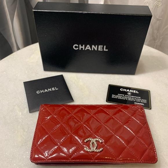 7e20e11a4cb583 CHANEL Bags | Patent Leather Wallet Authentic | Poshmark